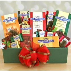 A Very Ghirardelli Christmas Gift Box