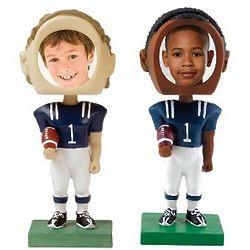 Custom Photo Football Bobblehead
