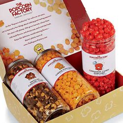 Create Your Own 3 Flavor Popcorn Gift Box