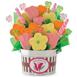 Mother's Day Cookie and Candy Flower Pot
