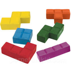Stackable Block Crayons