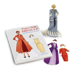 Fashion Through the Ages Paper Doll Dress Up Kit