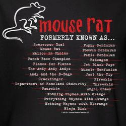 Parks and Recreation Mouse Rat Formerly Known As T-Shirt