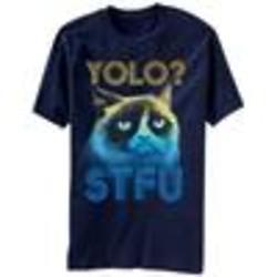 YOLO STFU Grumpy Cat T-Shirt