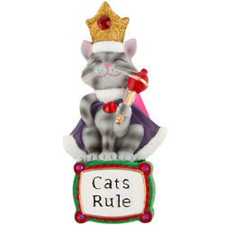 Cats Rule Ornament
