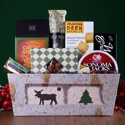 Happy Holiday Camper Gift Basket
