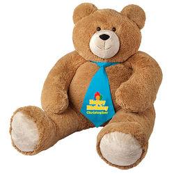 Big Hunka Love Happy Birthday Necktie Teddy Bear