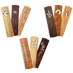 Handmade Wood Bookmark Sets