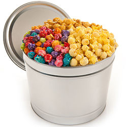 1 Gallon of Festive Favorites Popcorn in Tin