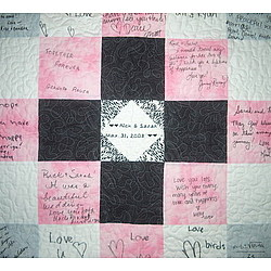Wedding Guest Book Quilt Kit