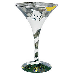 Spooky Juice Martini Glass