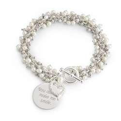 Pearl Flutter Bracelet