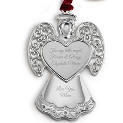 Heirloom Angel 2D Christmas Ornament
