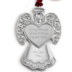 Heirloom Angel 2D Christmas Ornament