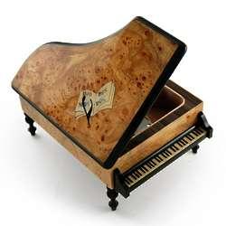 Handcrafted Italian Grand Piano Music Box