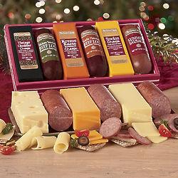 Sausage and Cheese Bars Gift Box