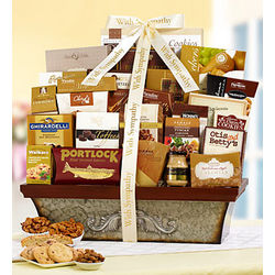 With Love and Remembrance Sympathy Basket