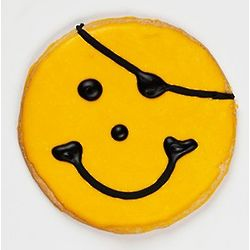 Mini Pirate Smileys Cookies