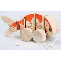 Pull-Along Koi Toy