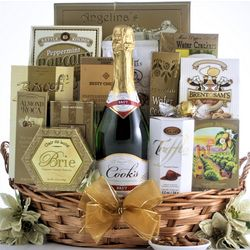 Simply Chic Champagne Gift Basket