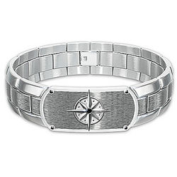 Forge Your Own Path My Son Stainless Bracelet