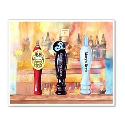 On Tap III Personalized Art Print