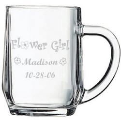 Personalized Flower Girl Mug