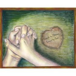 Holding Hands Fine Art Print