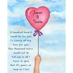 Love Floats Fine Art Print