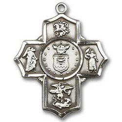 5-Way Christian Air Force Medal