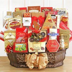 Holiday Gourmet Extravaganza Gift Basket