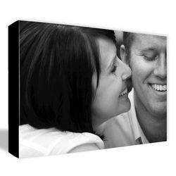 Black and White 16x20 Photo to Canvas Art