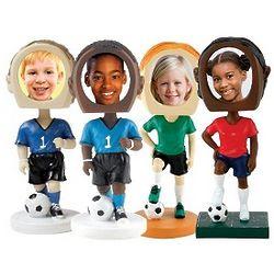 Custom Photo Soccer Bobblehead
