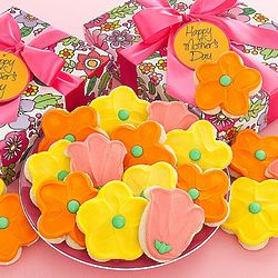 Mother's Day Floral Cookie Box