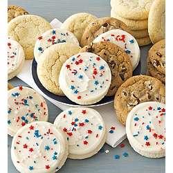 Two Dozen Americana Cookies