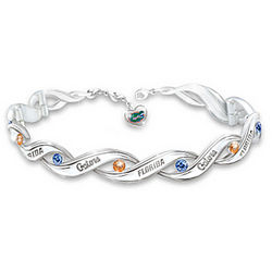 Florida Gators Pride Bracelet with Logo Heart Charm