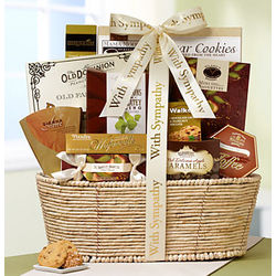Our Hearts Are with You Sympathy Gift Basket