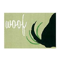 Woof Dog Tail Rug