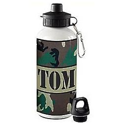 Personalized Camouflage Water Bottle
