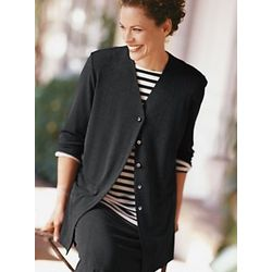 Women's Travel Knit 3/4-Sleeved Jacket