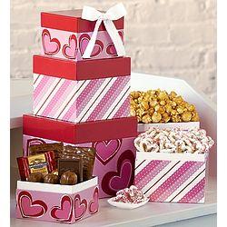 Here's My Heart Chocolate Tower
