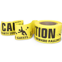 Party Zone Caution Barrier Tape