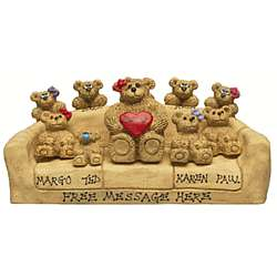 Personalized Mom / Grandma Bear in Chair with Kids