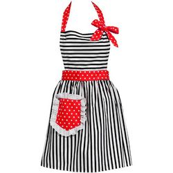 Dorothy Cherry Red Apron