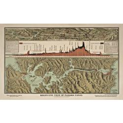 History of the Panama Canal Giclee Print