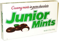 Junior Mints 12 Count Theater Size Boxes