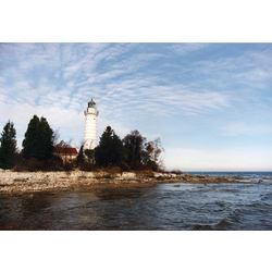 Cana Island Lighthouse Photograph