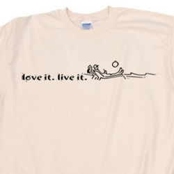 Love It. Live It. Chaise Lounge T-Shirt
