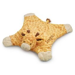 Personalized Cozy Giraffe Blanket