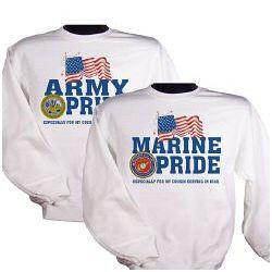 Military Pride Personalization Sweatshirt